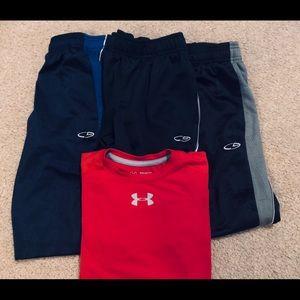 Boys size 8/10 pants and medium shirt